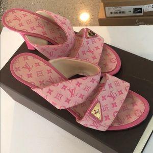 Vintage lv heels